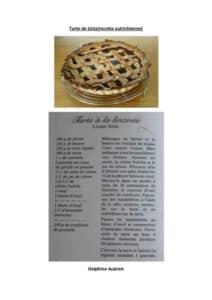 thumbnail of Tarte de Lintz autrichienne