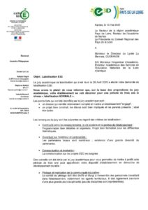 thumbnail of Lycée La Mennais – GUERANDE REPONSE